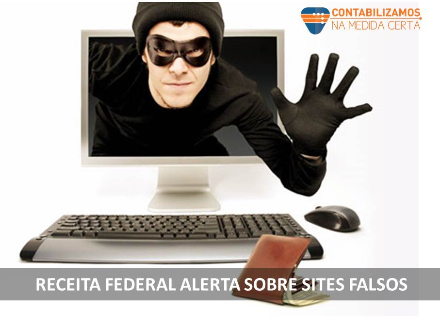 Site Falso Receita Federal