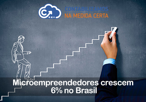 Microempreendedores Crescem 6% No Brasil