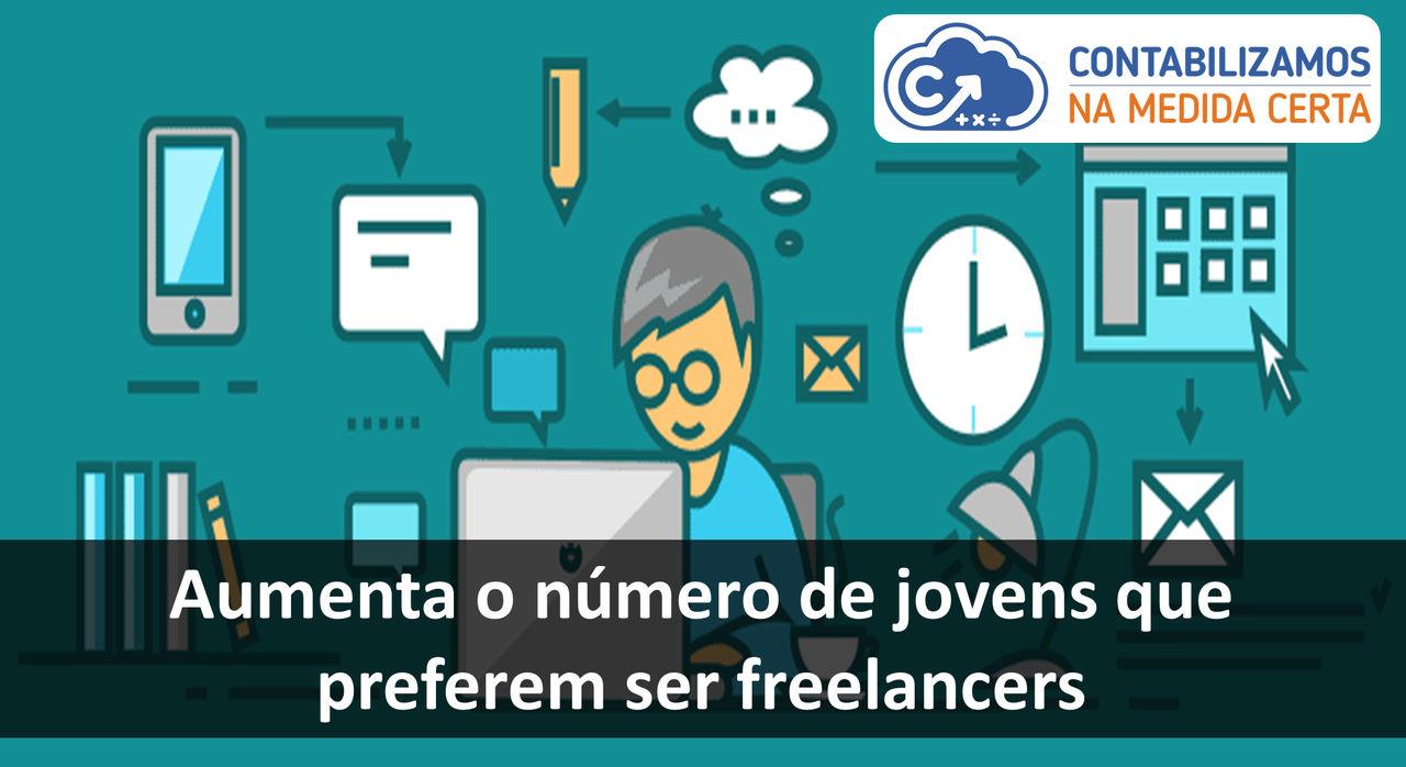 Aumenta O Número De Jovens Que Preferem Ser Freelancers