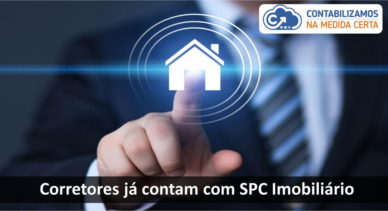 Corretores Já Contam Com SPC Imobiliário