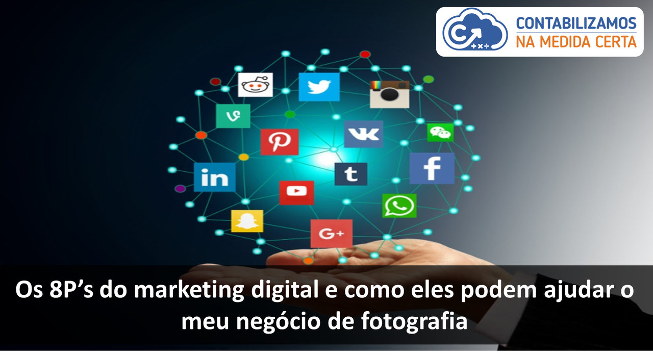 Os 8 P's Do Marketing Digital E Como Eles Podem Ajudar O Meu Negócio De Fotografia