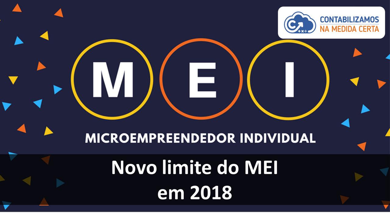 Novo Limite Do MEI Em 2018