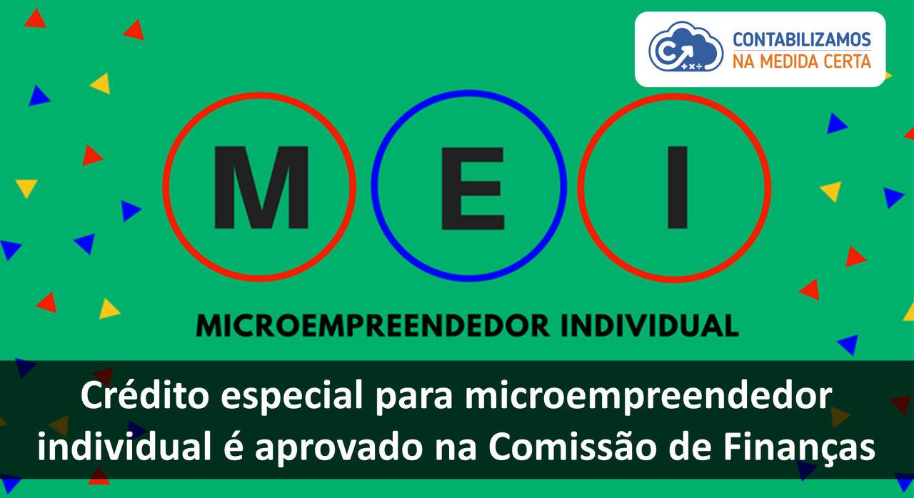 Crédito Especial Para Microempreendedor Individual é Aprovado Na Comissão De Finanças